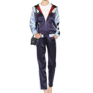 Opening Ceremony Reversible Satin jacket